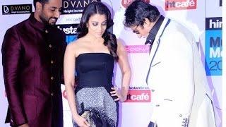getlinkyoutube.com-HT Most Stylish Awards 2015   Aishwarya Rai Bachchan, Abhishek Bachchan, Amitabh Bachchan