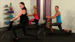 getlinkyoutube.com-Day 3 Video 1: Pop Physique Class, Leg and Butt Workout, Class FitSugar