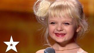 getlinkyoutube.com-Рэп про репку от пятилетней Марии - Україна має талант-6 - Кастинг в Днепропетровске