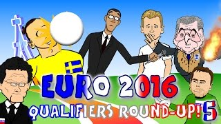 getlinkyoutube.com-🇫🇷Zlatan freak goal! Akinfeev flare! Kane debut goal🇫🇷 EURO 2016 QUALIFIER goals highlights