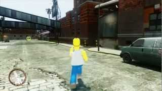 getlinkyoutube.com-Homer Simpson in GTA IV 1080p