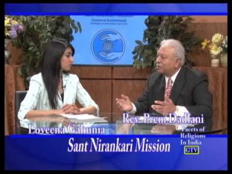 Miss Loveena Gahunia interviews Rev. Prem Dadlani (Sant Nirankari Mission)