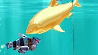 getlinkyoutube.com-Hungry Shark Evolution Robo Shark Android Gameplay #19