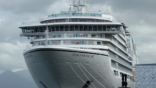 Live video tour of new Seabourn Encore Cruise Ship