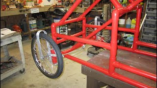 American Speedster Side-Kick - Part 12 - Assemble Front End Brackets and Wheels