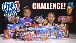 getlinkyoutube.com-CHIPS AHOY CHALLENGE!!! 15 Flavor Taste Test! Let's Crown the Cookie King!