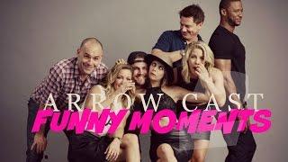 getlinkyoutube.com-arrow cast + funny moments [part two]