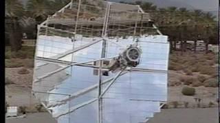 getlinkyoutube.com-World Record Setting Solar Parabolic Dish Stirling System, 1984