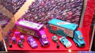 getlinkyoutube.com-23 Disney Cars Trucks Complete Collection Mack Truck Wally Hauler Walmart Pixar by Blucollection