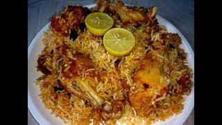 getlinkyoutube.com-Hyderabadi Chicken Biryani ( హైదరాబాది చికెన్ బిర్యాని)