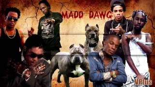 Madd Dawg    New Dancehall Mix    April 2016    Vybz Kartel, Alkaline, Masicka, Mavado