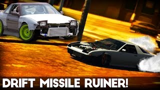 getlinkyoutube.com-GTA 5 Online | How to make a Drift Missile | Ruiner/240sx (Remove Bumpers/Stance - Tutorial)