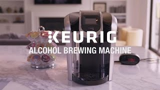 The Keurig Alcohol Brewing Machine