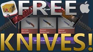 getlinkyoutube.com-Case Clicker - How to get Knives for FREE! [IOS]