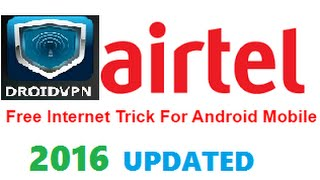 "getlinkyoutube.com-[2016] (Updated) Free internet on airtel using ""DROIDVPN"" App| airtel free 4G internet hack 2016"