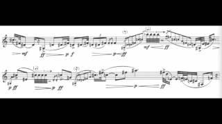 getlinkyoutube.com-Luciano Berio (1925 - 2003) - Sequenza IXa (1980) for clarinet solo (w/ score)