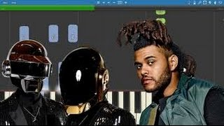 STARBOY - THE WEEKND FEAT DAFT PUNK karaoke version ( no vocal )  instrumental