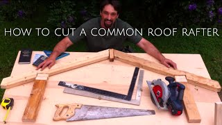 getlinkyoutube.com-How To Cut a Roof Rafter