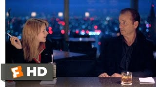 getlinkyoutube.com-Lost in Translation (7/10) Movie CLIP - Bob and Charlotte Meet (2003) HD