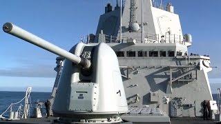 getlinkyoutube.com-対空戦闘・対水上戦闘訓練 スペイン海軍イージス艦 - Spanish Navy Anti-aircraft & Anti-ship Combat Training