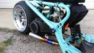 getlinkyoutube.com-Akrapovic GP Megaphone Exhaust Honda Ruckus