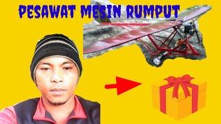 getlinkyoutube.com-Pesawat mesin rumput gendong