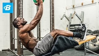 Sculpt Monster Abs With Just 4 Moves | Rodney Razor