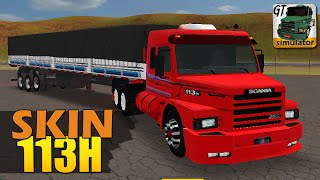 getlinkyoutube.com-Grand Truck Simulator - SKIN Scania 113H e QUEBRA DE ASA SUICIDA