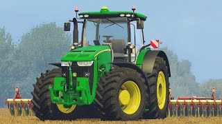 getlinkyoutube.com-Farming Simulator 15 John Deere 8370r