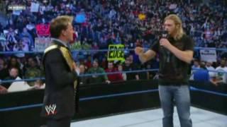 Edge and Chris Jericho Segment on Smackdown