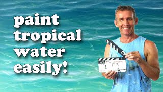 getlinkyoutube.com-How To Paint Tropical Water - Paint Recipes with Mark Waller
