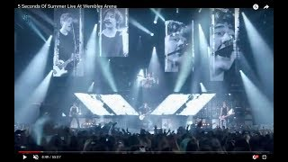 getlinkyoutube.com-5 Seconds Of Summer Live At Wembley Arena