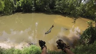 getlinkyoutube.com-How To Catch Channel Catfish with Hot Dogs
