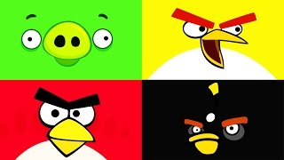 getlinkyoutube.com-EPIC Angry Birds videos - surprise eggs, toys and many Disney folks by supercool4kids