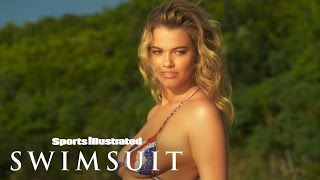 getlinkyoutube.com-Hailey Clauson In Nothing But Body Paint | Sports Illustrated Swimsuit 2015