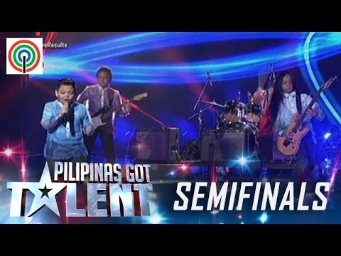 Pilipinas Got Talent Season 5 Live Semifinals: The Chosen Ones - Kiddie Rock Band