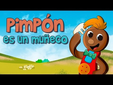 Pin Pon es un muñeco (Pimpón) Canciones y Rondas infantiles