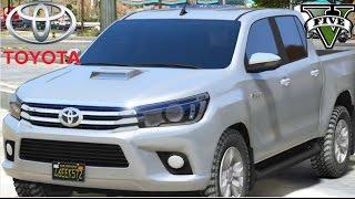 getlinkyoutube.com-GTA V - Racha com Toyota Hilux 2016