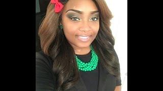 getlinkyoutube.com-I'm cute tho LOL/Freetress Equal Wig Clary OP27