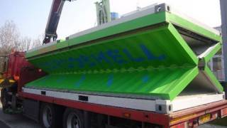 getlinkyoutube.com-Werkendams bedrijf introduceert opvouwbare zeecontainer