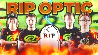 RIP OPTIC GAMING... (REASON WHY OPTIC SPLIT UP) - BEST COD TEAM EVER!