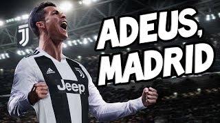 A EMOCIONANTE carta de despedida de CRISTIANO RONALDO do Real Madrid width=