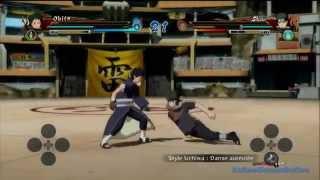getlinkyoutube.com-Obito vs Shisui Gameplay Naruto Shippuden Ultimate Ninja Storm Revolution