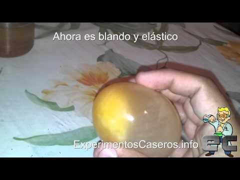 El huevo saltarín - Ósmosis (Experimentos Caseros)