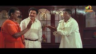 getlinkyoutube.com-Snake charmer trying to help Ponnambalam & Nizhalgal Ravi | Sri Raja Rajeswari Scenes