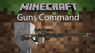 getlinkyoutube.com-Minecraft Command รีวิว - คอมมานปืน | Guns Command [1.10.2]