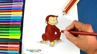 Cómo dibujar a Jorge El Curioso | How to draw Curious George