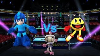 getlinkyoutube.com-SSBB Dolphin Emulated: MegaMan Vs Bomberman Vs Pac-Man