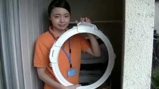getlinkyoutube.com-wash346の洗濯機分解洗浄!
