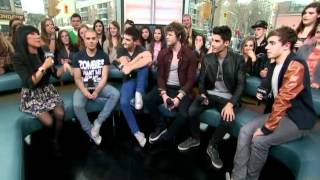 The Wanted on Much Music